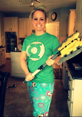 My brand. Spongebob, Green Lantern and NERF---oh, and I write books, too.
