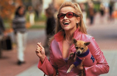 "Romi is VERY Elle Woods in ""Legally Blonde."""