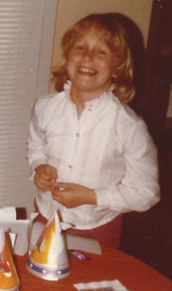 Kristen Circa Third Grade