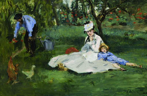 Manet 1874 via Wikimedia Commons
